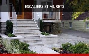 Escaliers et Murets Paysagiste Aménegement Denis