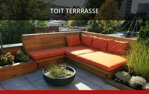Projet toit-terrasse - Paysagiste Aménegement Denis