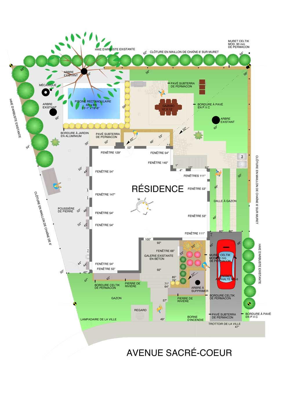 plan paysagiste gratuit awesome formidable plan de jardin gratuit nuancier acova with plan. Black Bedroom Furniture Sets. Home Design Ideas