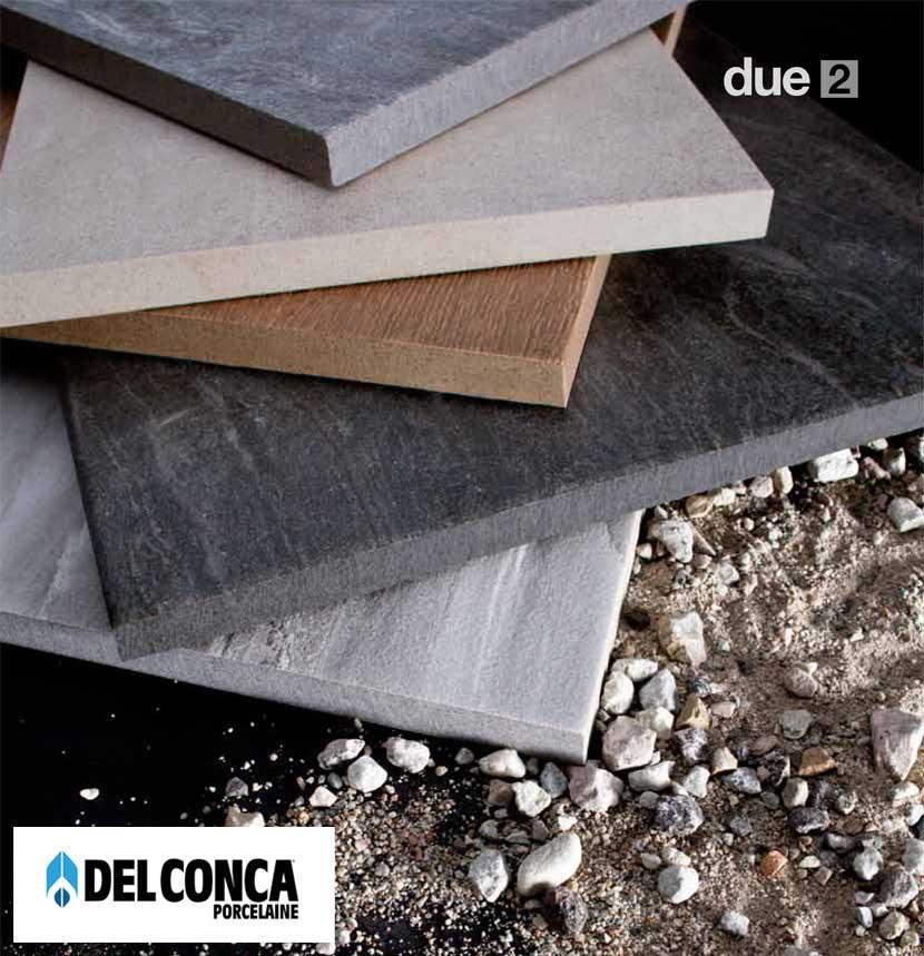 Del Conca due2 - Porcelaine